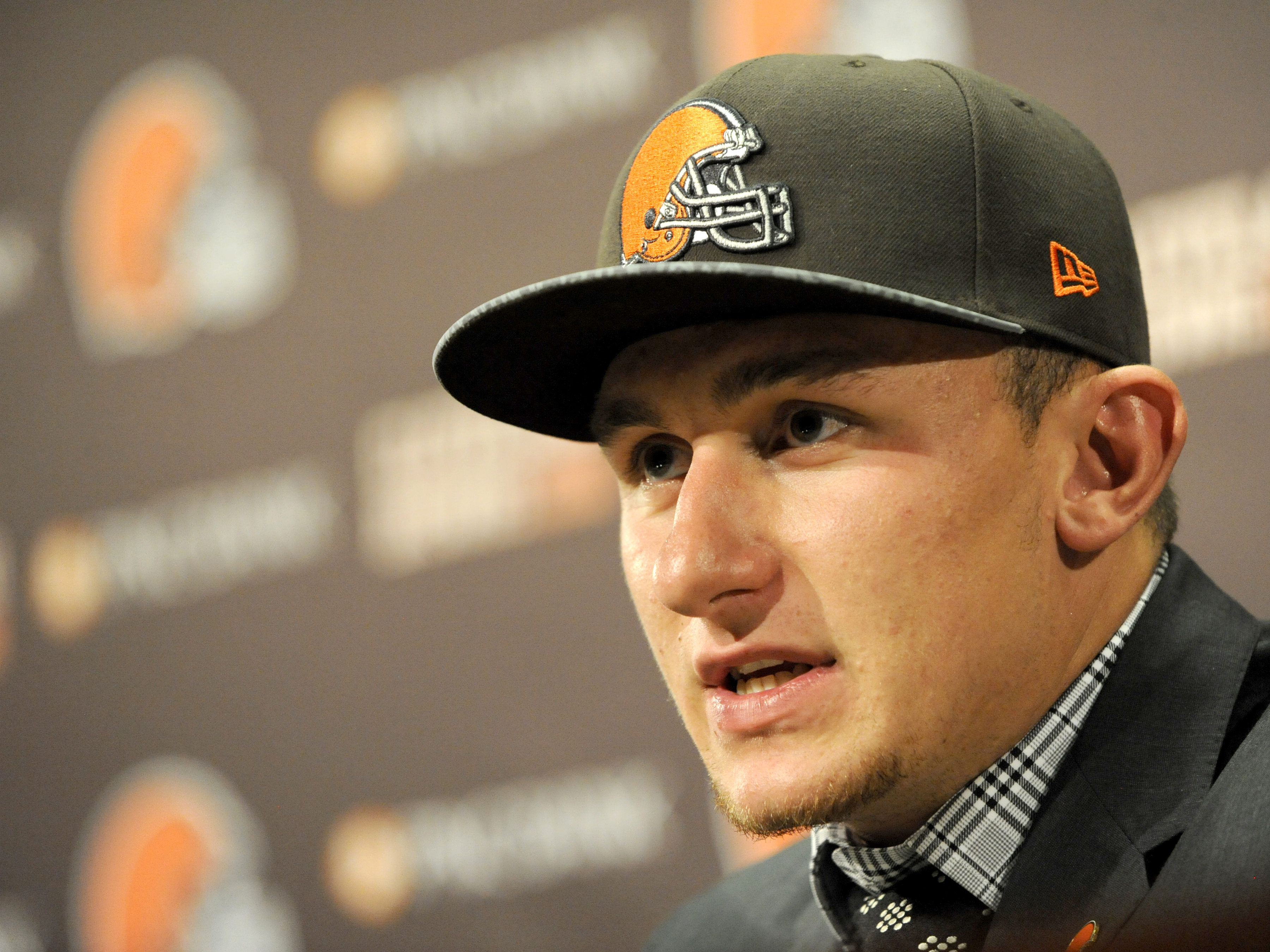 Cleveland Browns first-round pick Johnny Manziel said he's not going to change his ways despite recent comments from team owner Jimmy Haslam.