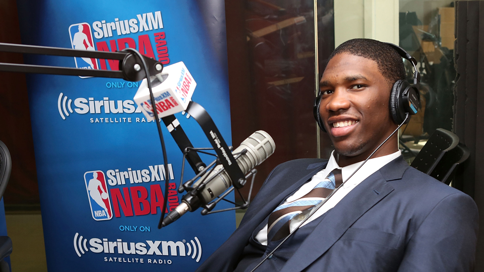 Joel Embiid was drafted by the Sixers despite a foot injury.