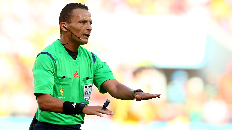 Algerian referee Djamel Haimoudi will officiate the USA's round of 16 match against Belgium on Tuesday.