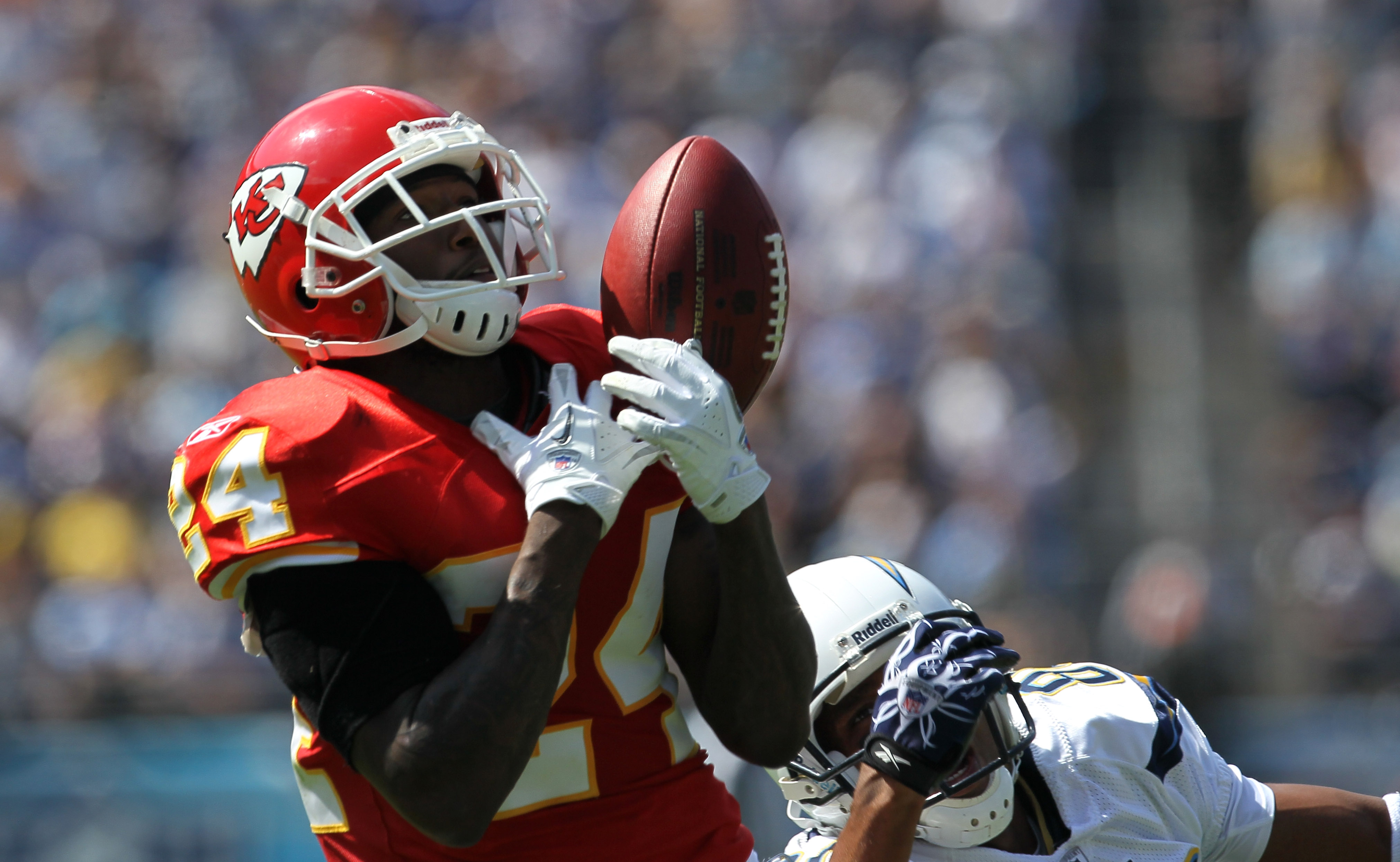 Brandon Flowers said he purposely stayed in the division to haunt the Chiefs.