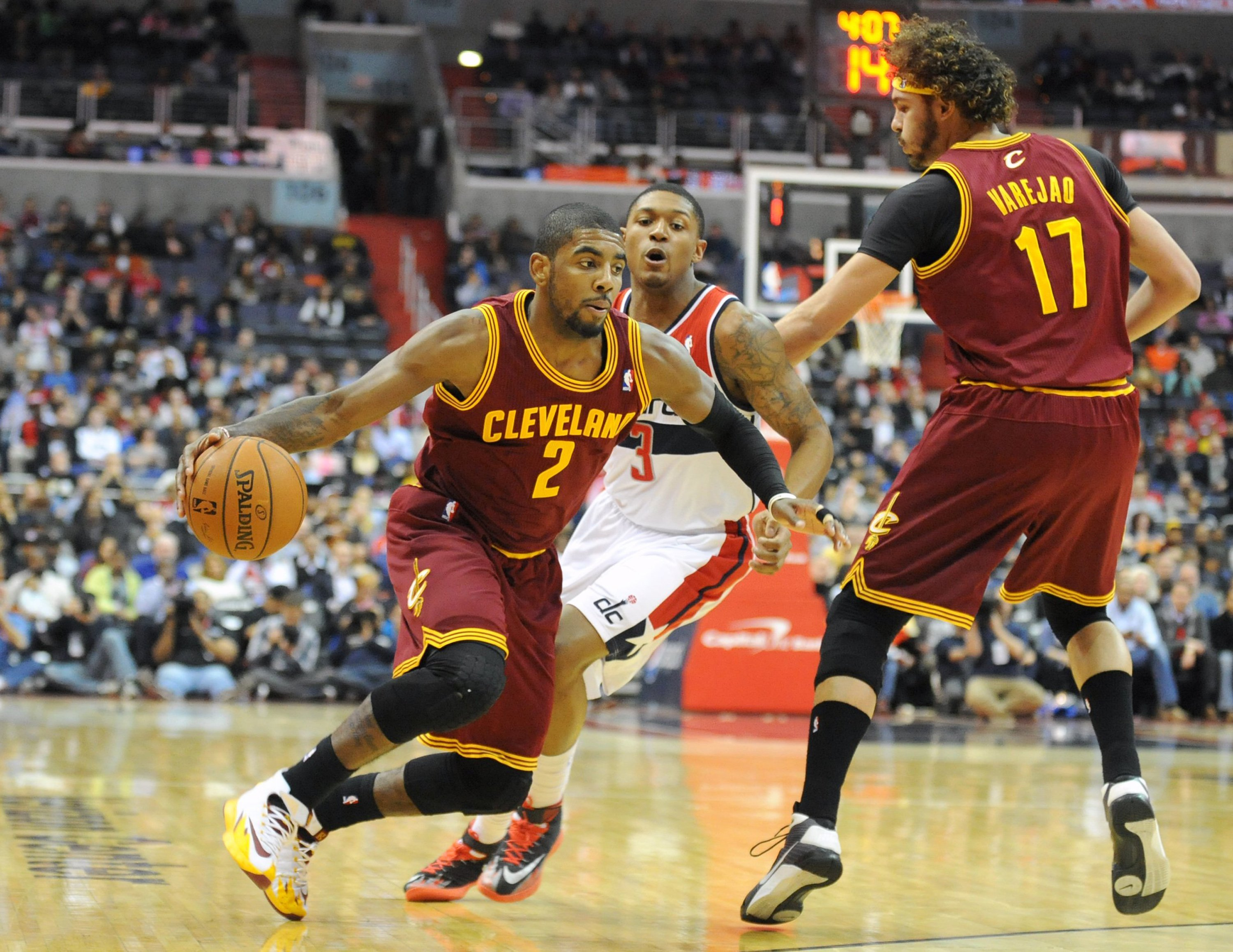 Kyrie Irving has had issues with durability in the past, but played in 71 games last season for Cleveland.