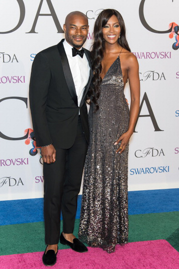 Naomi Campbell (with a little treat for me in Tyson Beckford) :: FilmMagic
