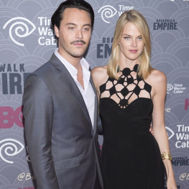 With Jack Huston :: instagram.com/leiclick
