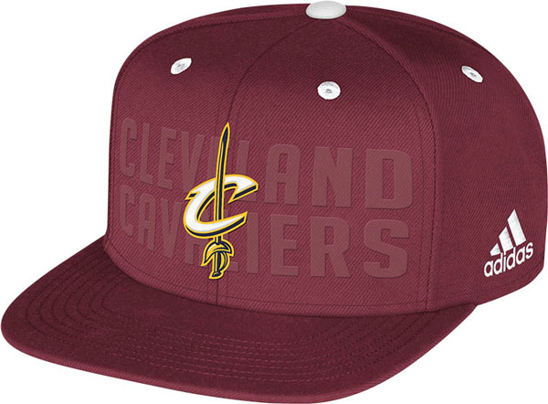 The Cleveland Cavaliers' 2014 NBA draft hat. (NBA)
