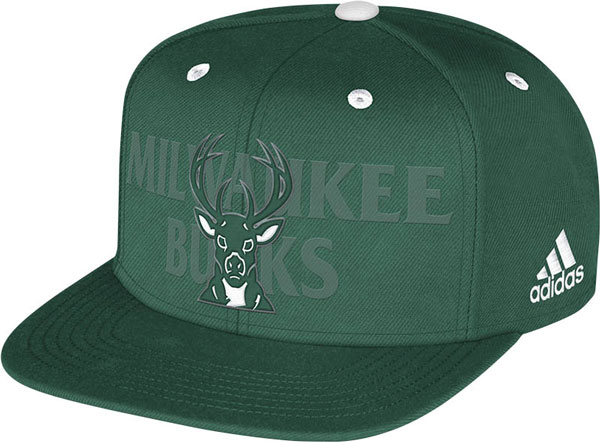 The Milwaukee Bucks' 2014 NBA draft hat. (NBA)