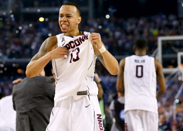 Shabazz Napier led UConn to a national title this past spring.