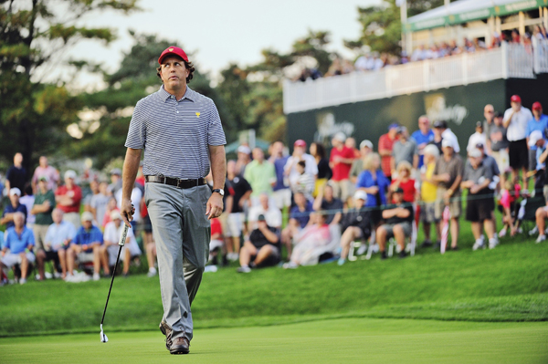 6. Phil Mickelson ($37.2 million) :: Kohjiro Kinno/SI