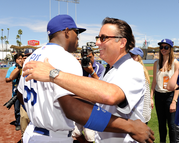 Yasiel Puig and Andy Garcia :: Getty Images