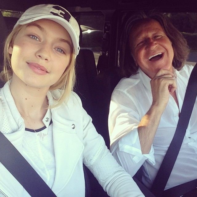 @gigihadid: So lucky to call this one my dad. I love you endlessly @mohamedhadid, your positivity makes more of my days than you know emoji HAPPY FATHER'S DAY