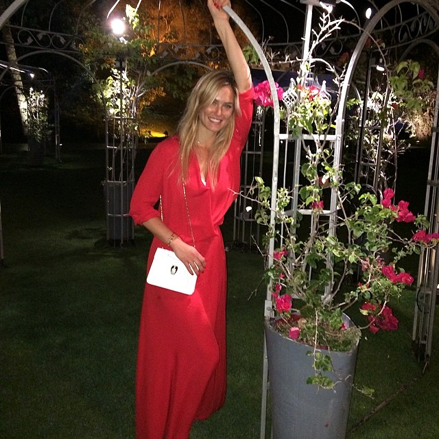 @barrefaeli: beautiful Summer nights. Me and my Bulgari purse are very excited about it