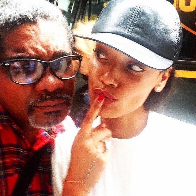 @selitaebanks: Ran into one of my favorite @marcbaptiste007 #ponderingmadness#creativethoughts #Haiti
