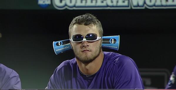authentic tcu baseball hat cap team got weird during its inning game against capacity