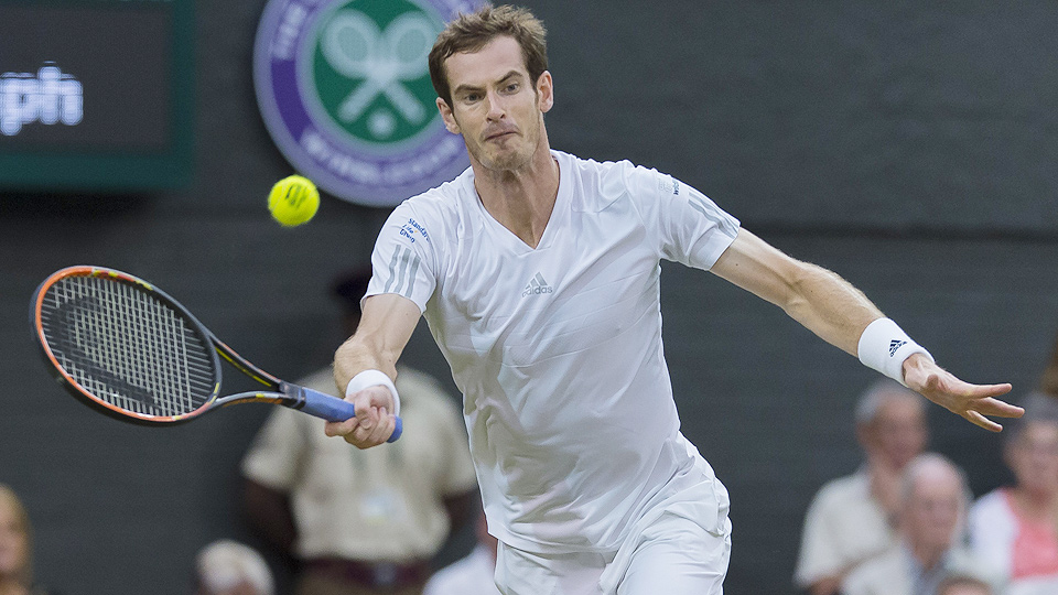 Andy Murray has dealt with the pressures of another Wimbledon run with a fine tournament so far.