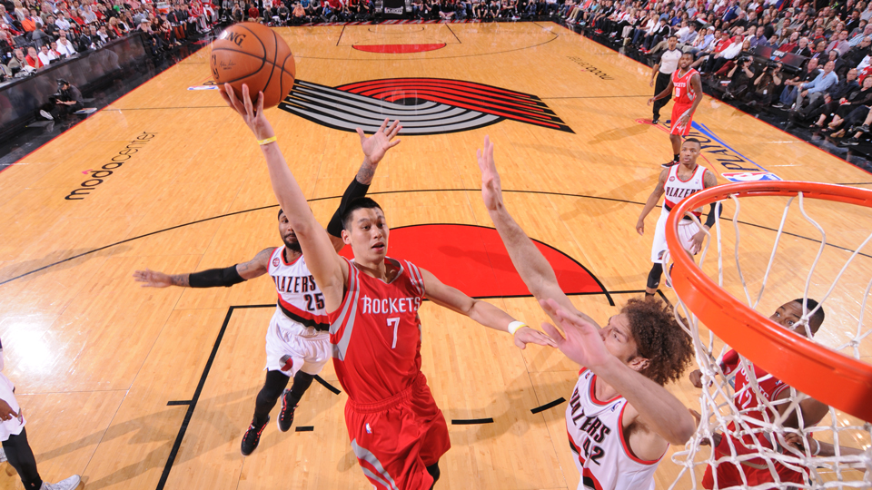 Jeremy Lin averaged 12.5 points and 4.1 assists in his second season with the Rockets last year.