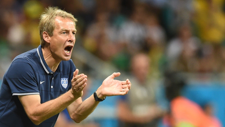 U.S. national team manager Jurgen Klinsmann says the USA's mental game needs to improve in order to compete with regularity at the highest level.