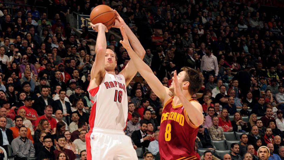 Steve Novak averaged 3.3 points and 1.1 rebounds for the Raptors last season.