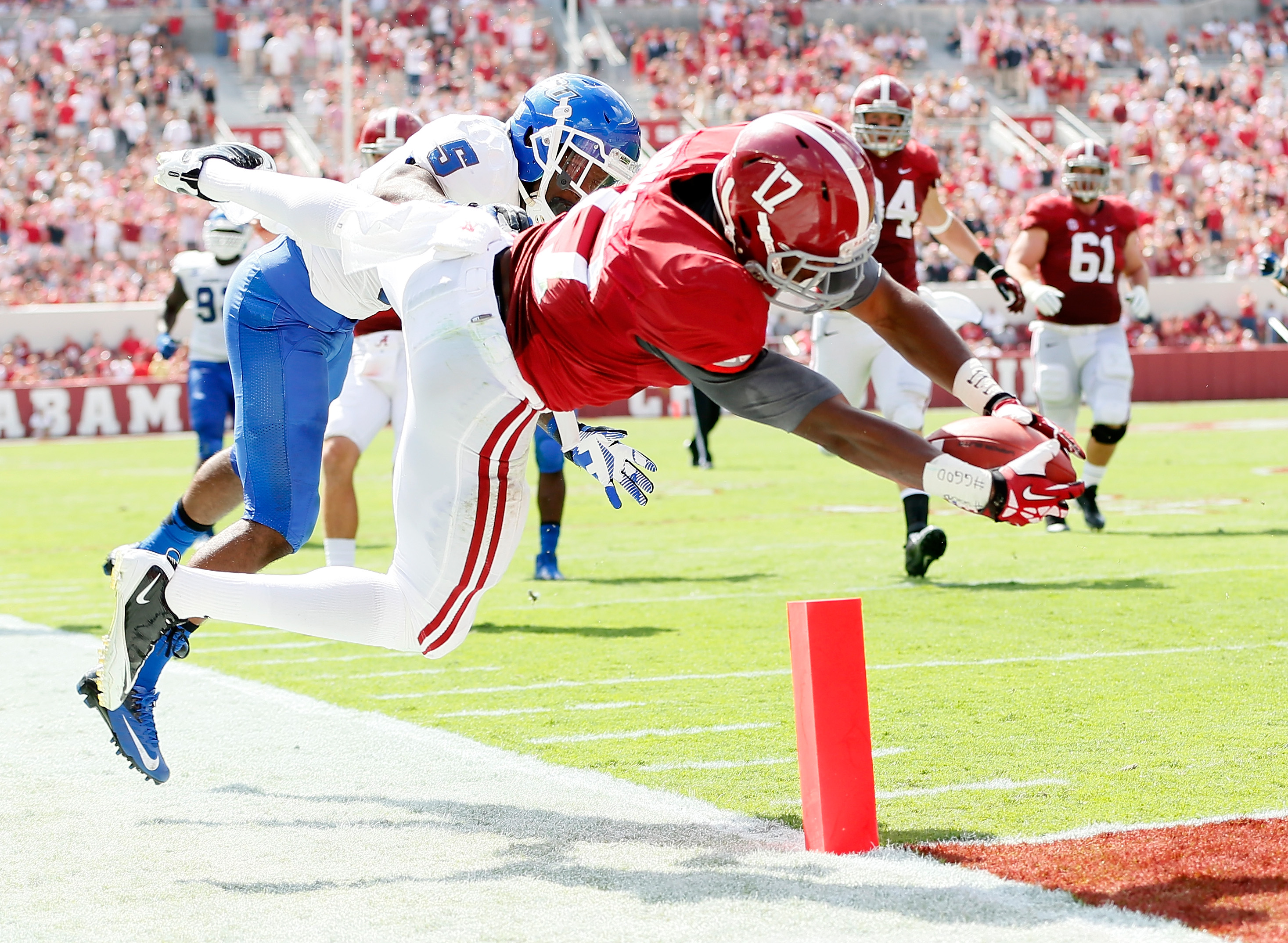 Kenyan Drake was second on the team last year with 694 yards rushing and eight touchdowns.