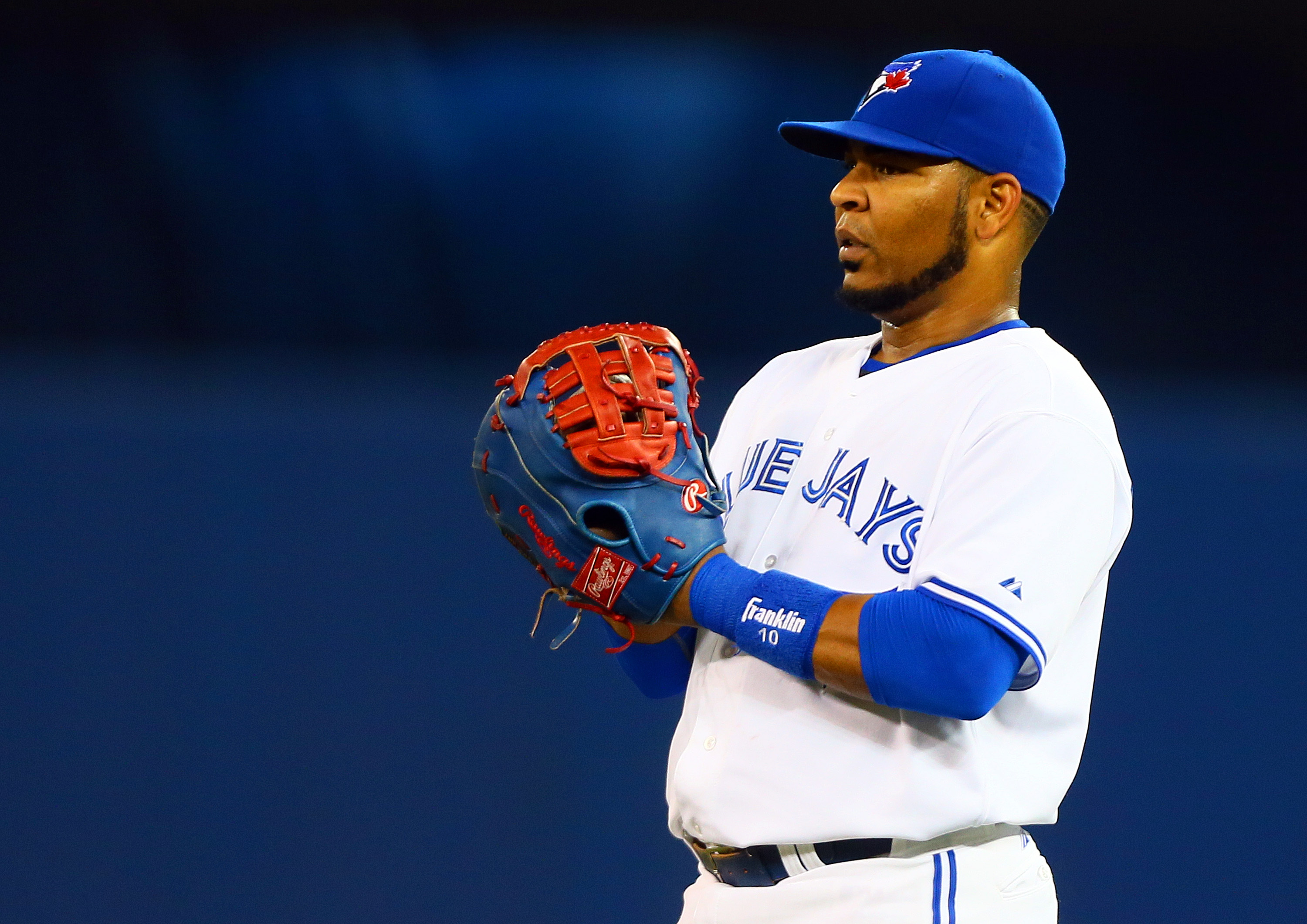 Edwin Encarnacion has 26 homers and 70 RBI for the Blue Jays.