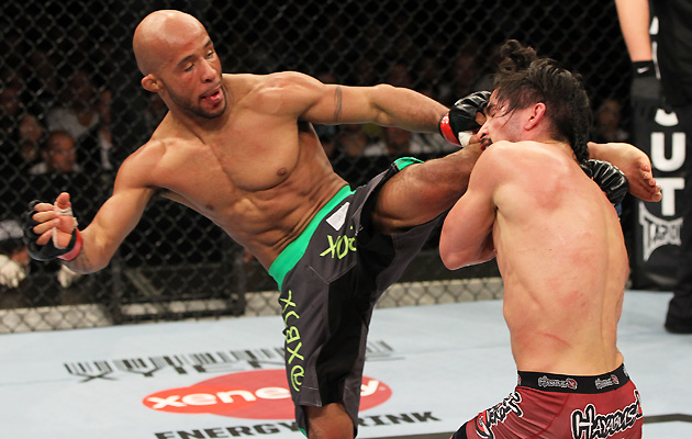 Demetrious Johnson (L)