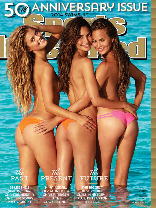 Nina Agdal, Lily Aldridge and Chrissy Teigen