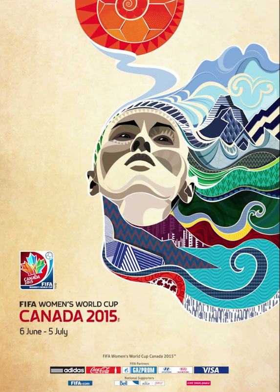FIFA 2015 Women's World Cup poster unveiled