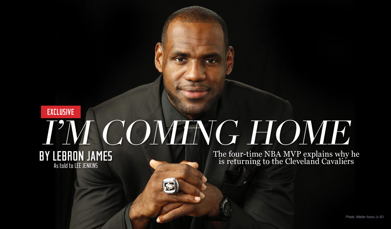 Image result for lebron i'm coming home