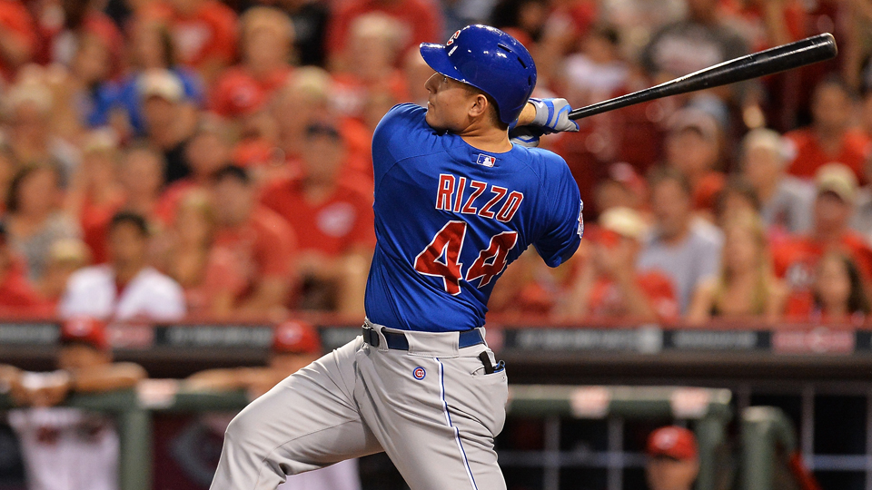 Anthony Rizzo made the National League roster on the Final Vote