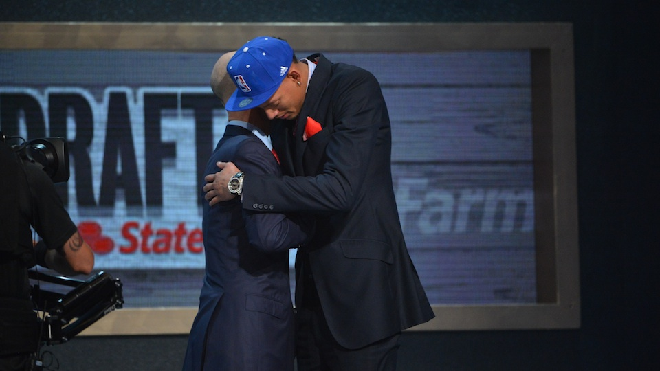 "Adam Silver whispered to Isaiah Austin during the 2014 NBA draft that Austin ""would always be part of the NBA family."""