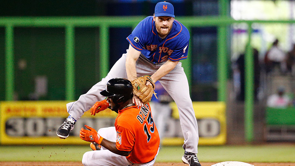Daniel Murphy is known best as a hitter, but he's worked hard to improve his defense, especially at turning the double play.