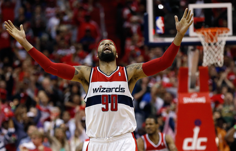 Washington Wizards re sign free agent power forward Drew Gooden