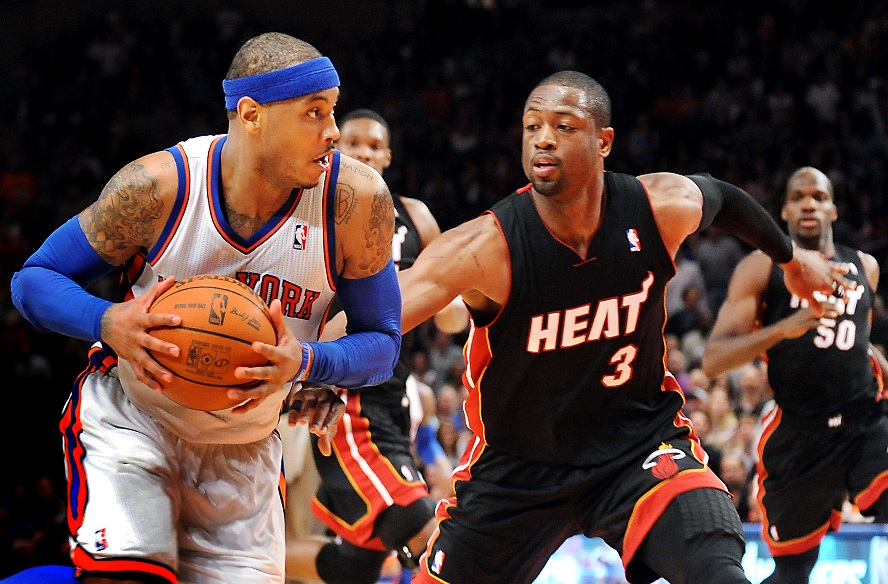 Carmelo Anthony, Dwyane Wade get no-trade clauses in new ...