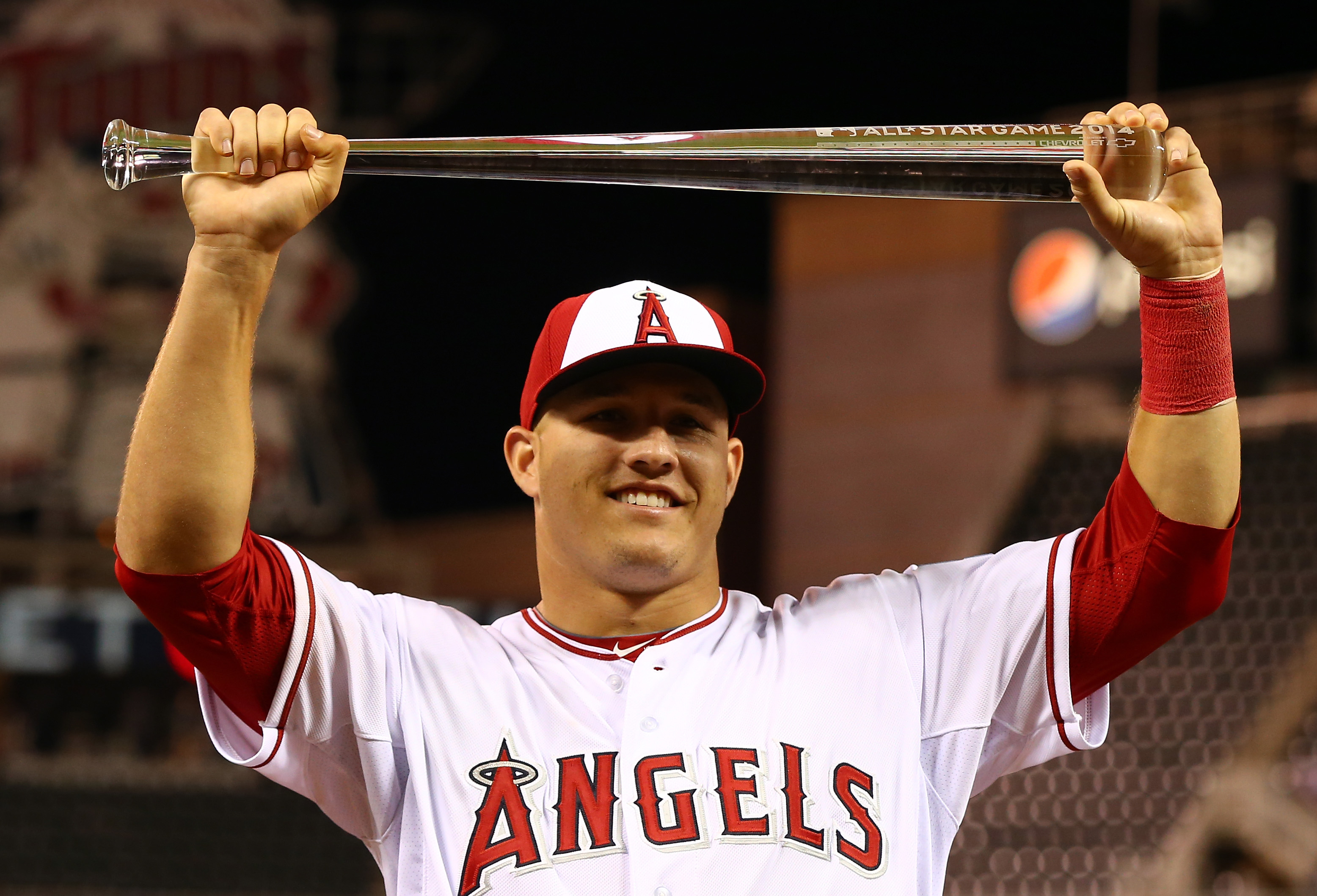 Angels outfielder Mike Trout was named All-Star Game MVP, and FOX announced it was the most-viewed ASG since 2010.