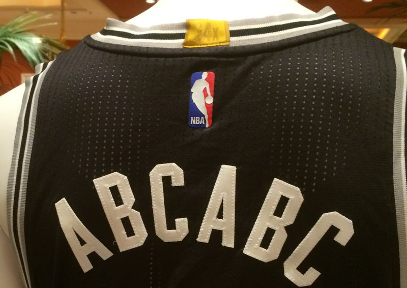b41f6e0c782c Photos  NBA jerseys to feature gold patches for title teams