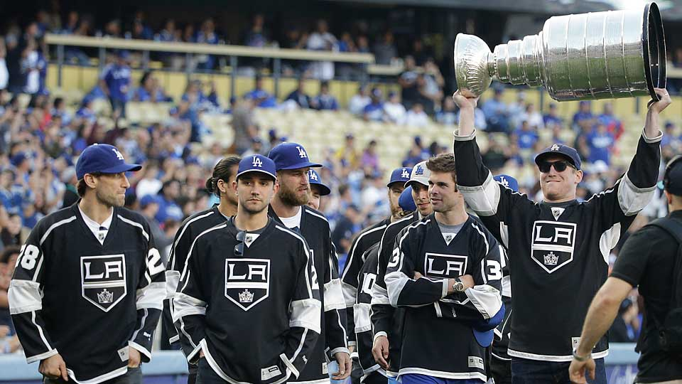 The off-season hasn't all been one big Stanley Cup celebration for the Kings, who are being sued by a couple for, among other things, causing a serious injury.