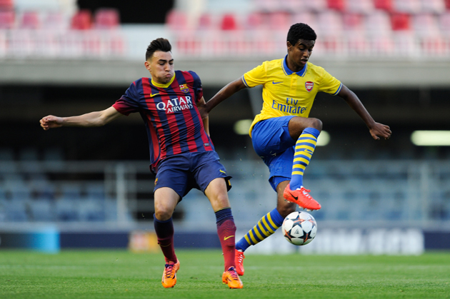 17-year-old Arsenal prospect Gedion Zelalem, right, is a target for Jurgen Klinsmann and the U.S. men's national team.