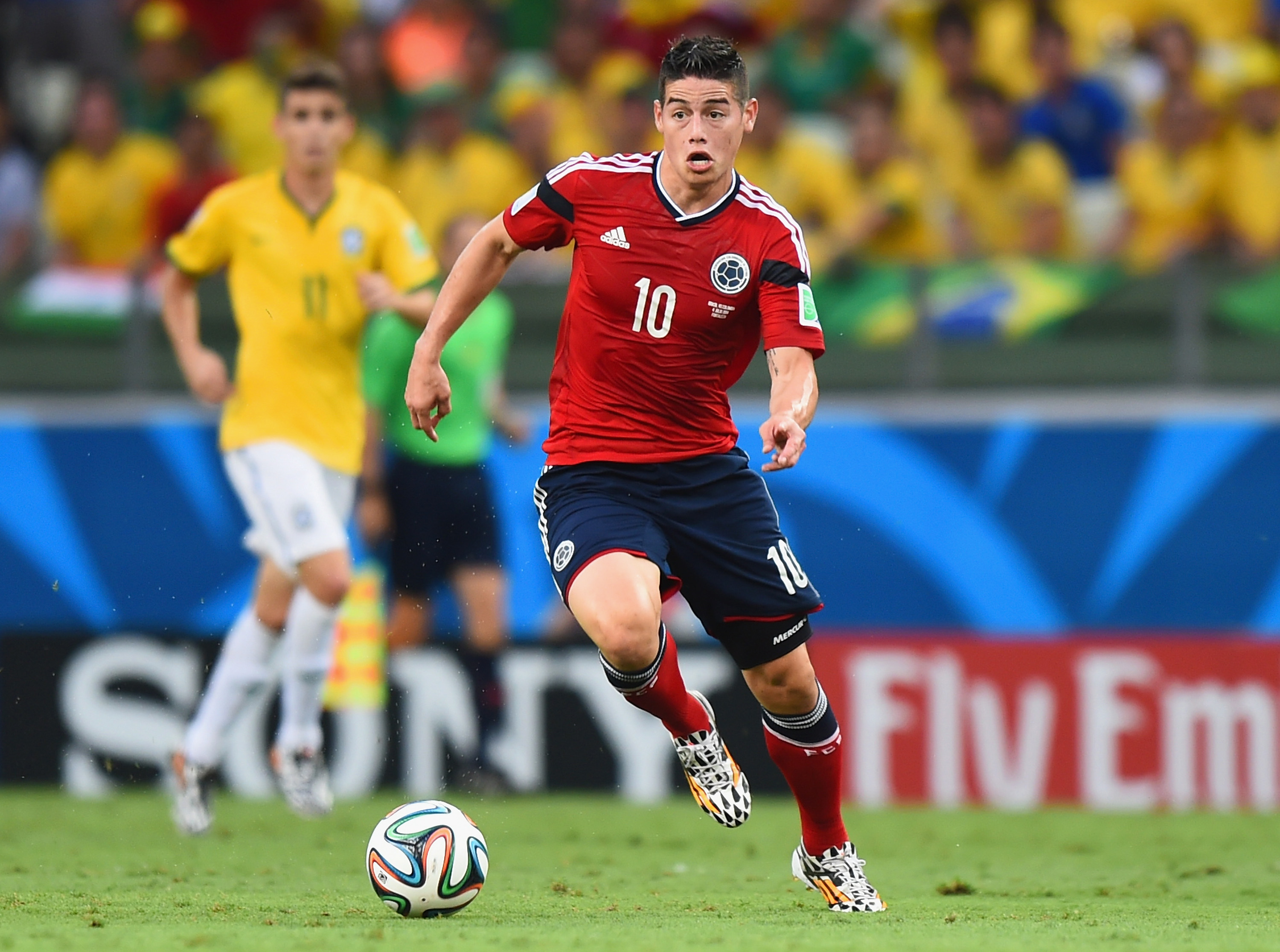 James Rodriguez is Real Madrid's latest big-name acquisition.