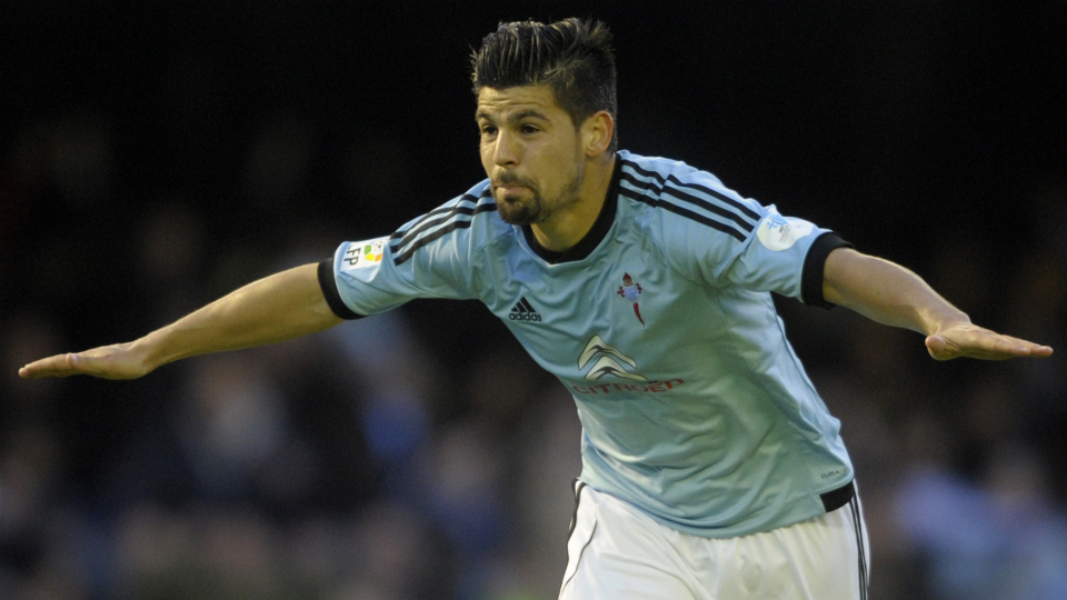 Celta Vigo forward Nolito