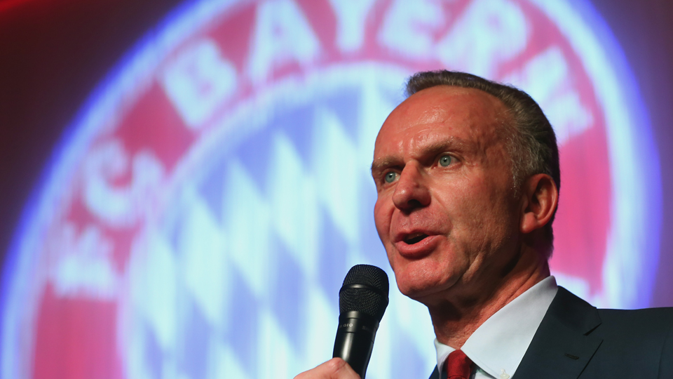 Bayern Munich CEO Karl-Heinz Rummenigge is hoping to see his club make inroads in the USA.