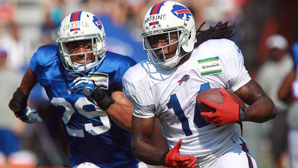 Sammy Watkins prepares to make his Bills debut at NFL Hall of Fame Game