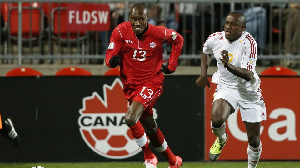 Canada midfielder Atiba Hutchinson