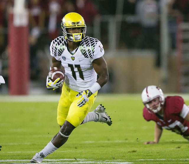 Oregon wide reciever Bralon Addison hopes to come back from a torn ACL by the Ducks second game against Michigan State.