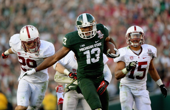 Fowler shined during Michigan State's Rose Bowl victory against Stanford