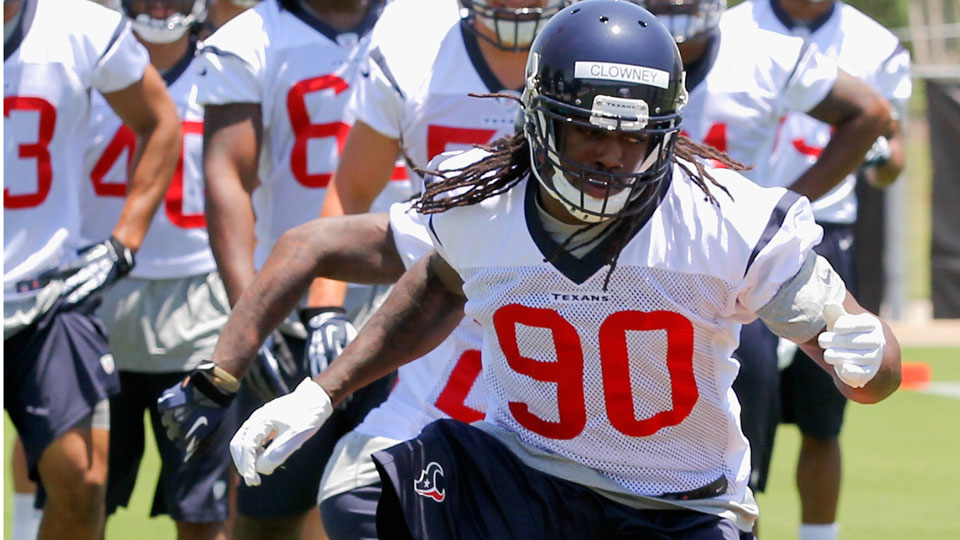 The Texans drafted Jadeveon Clowney No. 1 at the 2014 NFL draft