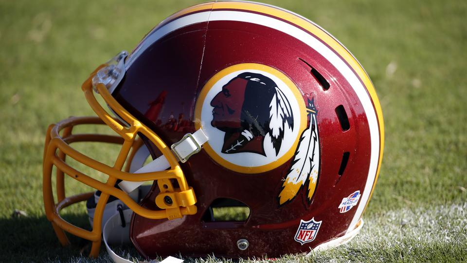 Redskins Helmet 2014 Ex-Washington Redskins...