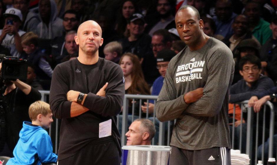 Roy Rogers (right) was an assistant on Jason Kidd's (left) staff last season in Brooklyn.