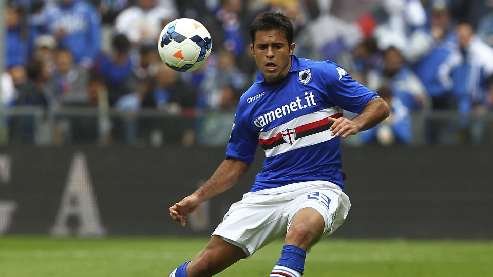 Sampdoria striker Citadin Eder