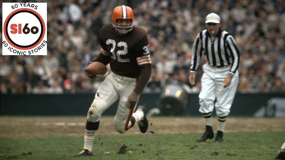 Jim Brown retired in 1965 as the NFL's all-time leading rusher, and though his record has been broken he has continued to leave his mark on society ever since.