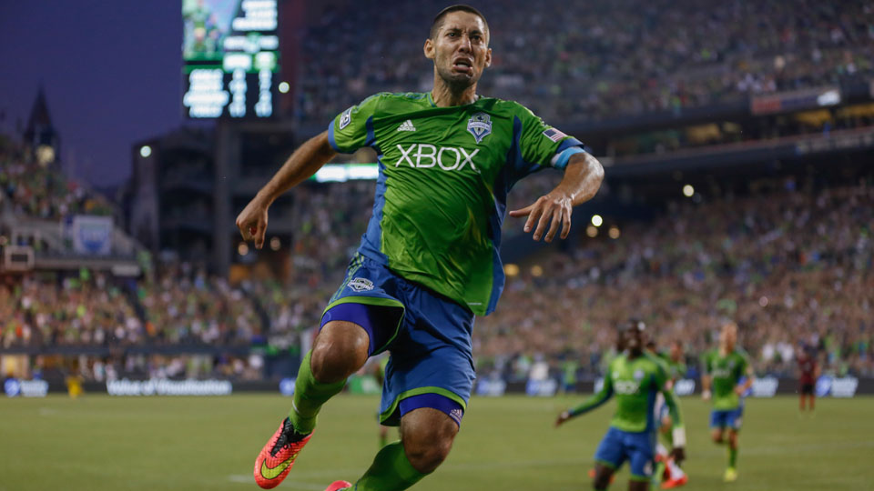 Clint Dempsey and the Seattle Sounders are on top of the Western Conference entering the second half of the season.