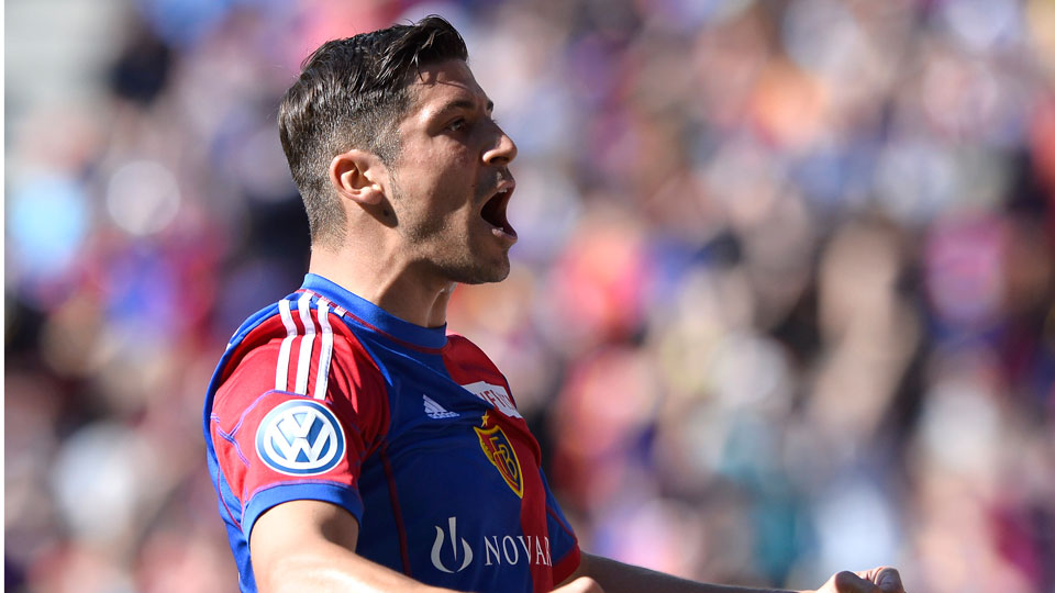 Davide Calla scored 11 goals for FC Basel last season