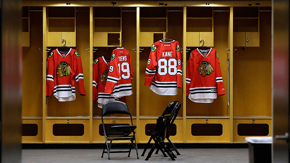 The Blackhawks signed Jonathan Toews and Patrick Kane to long-term extensions this summer, ensuring that their jerseys will hang in the United Center for years.
